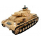 Panzer IV F2 - son - fumee - couleur sable Heng Long - 4400865