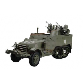 Vehicule militaire a chenille Half Track US