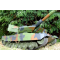 Char LEOPARD 2A5  1/16eme RTR Camouflage vert - HE0807