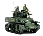 Char US M5A1 Stuart + soldats - Force Of Valor - UNI-81204