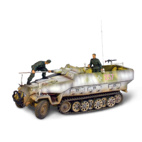 Char German Sd. Kfz. 251/9 Kanonenwagen + soldats - Force Of Valor - UNI-81510