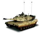 Char US M1A1 Abrams + soldat - Force Of Valor - UNI-80005