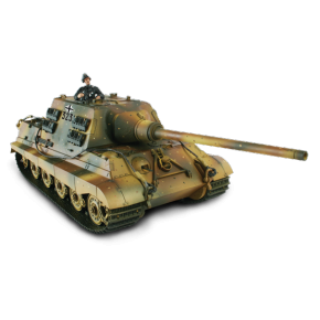 Char German Jagdtiger + soldat - Force Of Valor - UNI-80059