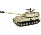 Char US M109 Self Propelled Howitzer + soldat - Force Of Valor - UNI-80021