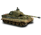 Char German King Tiger (Porsche Turret) + soldat - Force Of Valor - UNI-80054