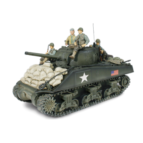 Char US M4A3 Sherman + soldats - Force Of Valor - UNI-80235