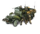 US M3A1 Half-Track + soldats - Force Of Valor - UNI-80063