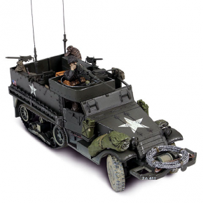 US M3A1 Half-Track + soldat - Force Of Valor - UNI-81314