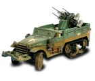 US M16 Multiple Gun Motor Carriage + soldats - Force Of Valor - UNI-81303