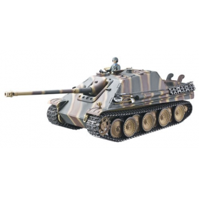 CHAR RC2.4GHZ 1/16 JAGDPANTHER COMPLET METAL + (BRUIT/FUMEE)